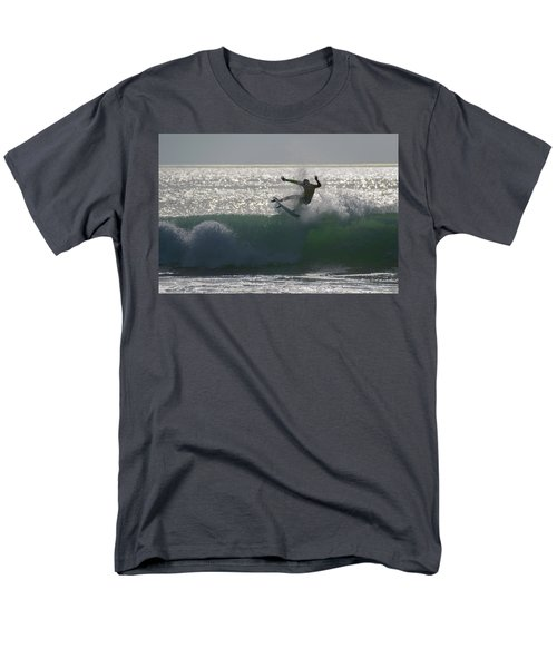 Surfing The Light Men's T-Shirt  (Regular Fit) by Thierry Bouriat