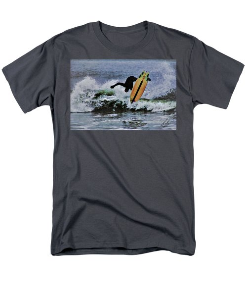 Men's T-Shirt  (Regular Fit) featuring the photograph Surfs Up by B Wayne Mullins