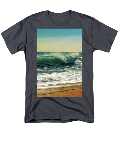 Men's T-Shirt  (Regular Fit) featuring the photograph Surf's Up by Laura Fasulo