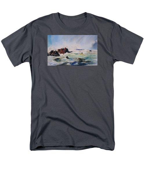 Surf's Up Men's T-Shirt  (Regular Fit) by P Anthony Visco