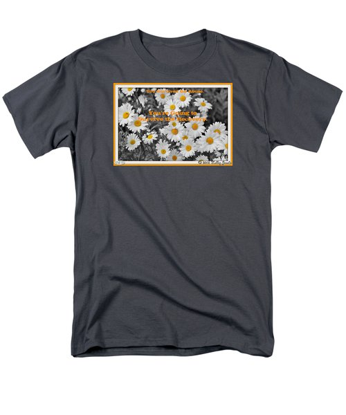 Men's T-Shirt  (Regular Fit) featuring the digital art Survive The Recovery by Holley Jacobs