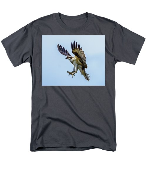 Suspended Osprey Men's T-Shirt  (Regular Fit) by Jerry Cahill