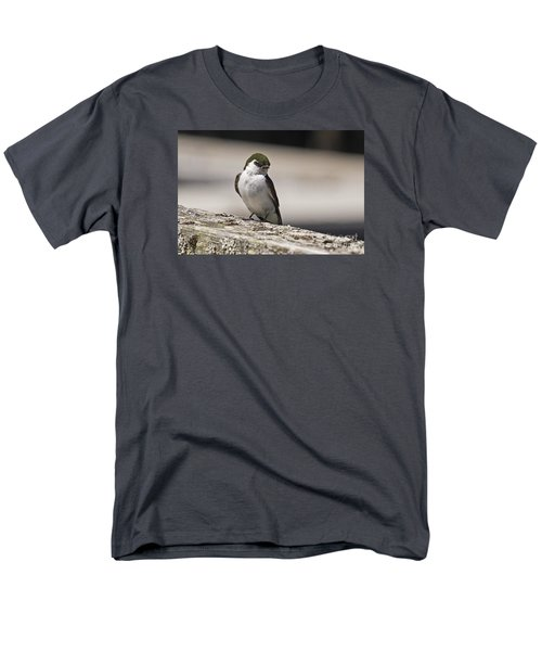 Men's T-Shirt  (Regular Fit) featuring the photograph Swallow by Inge Riis McDonald