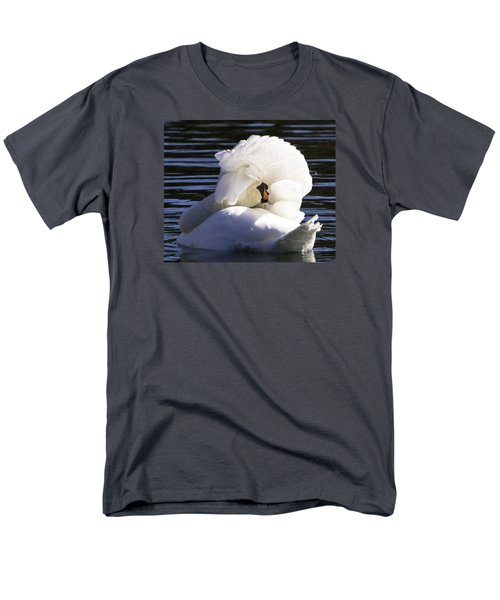 Men's T-Shirt  (Regular Fit) featuring the photograph Swan Prince by Cathy Donohoue