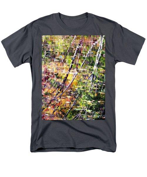 Men's T-Shirt  (Regular Fit) featuring the photograph Raking Water  by Melissa Stoudt