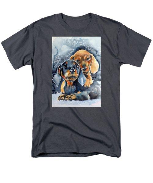 Sweet Little Dogs Men's T-Shirt  (Regular Fit)