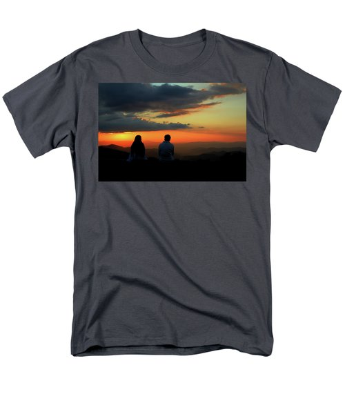 Men's T-Shirt  (Regular Fit) featuring the photograph Sweetheart Sunset by Jessica Brawley