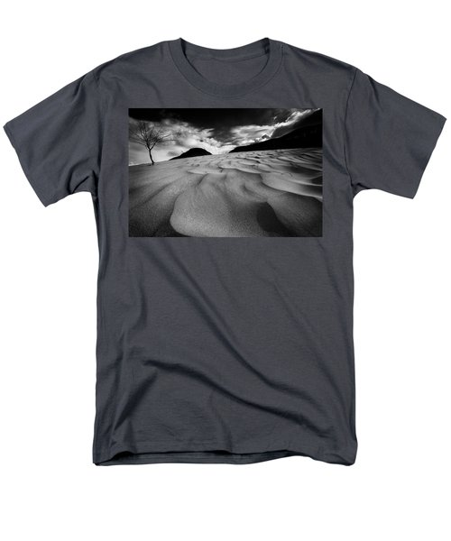 Men's T-Shirt  (Regular Fit) featuring the photograph Swerves And Curves In Jasper by Dan Jurak