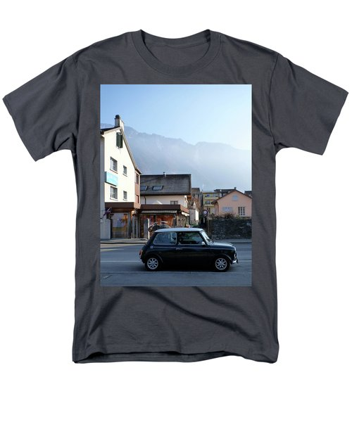 Men's T-Shirt  (Regular Fit) featuring the photograph Swiss Mini by Christin Brodie
