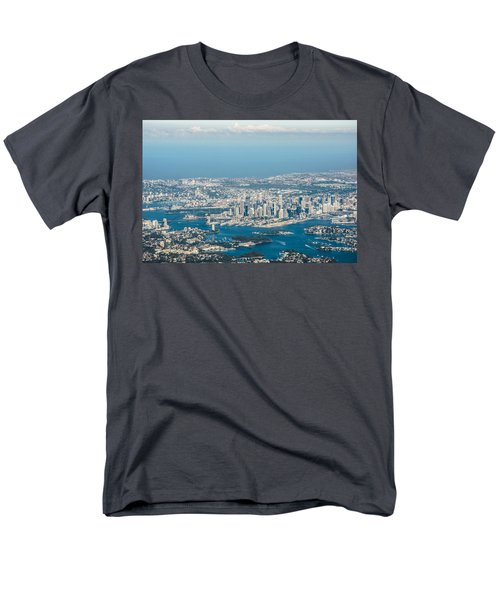 Sydney From The Air Men's T-Shirt  (Regular Fit) by Parker Cunningham