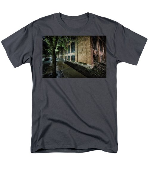 Men's T-Shirt  (Regular Fit) featuring the photograph Syracuse Sidewalks by Everet Regal