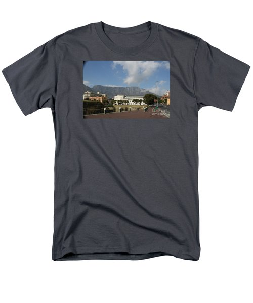 Table Mountain, Capetown Men's T-Shirt  (Regular Fit) by Bev Conover