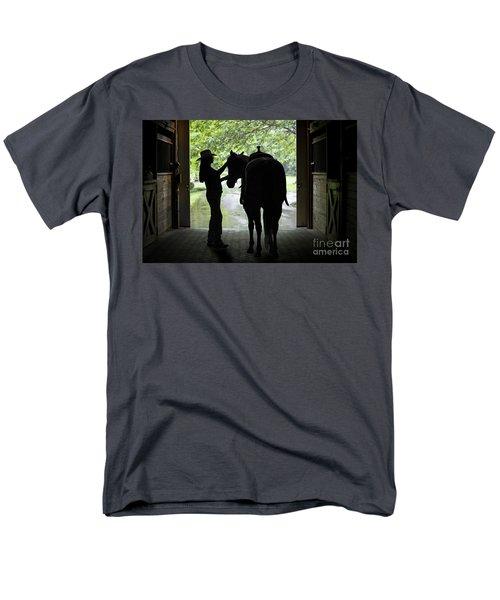 Tackin' Up Men's T-Shirt  (Regular Fit) by Nicki McManus
