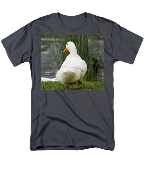 Men's T-Shirt  (Regular Fit) featuring the photograph Tale Feathers by Tara Lynn