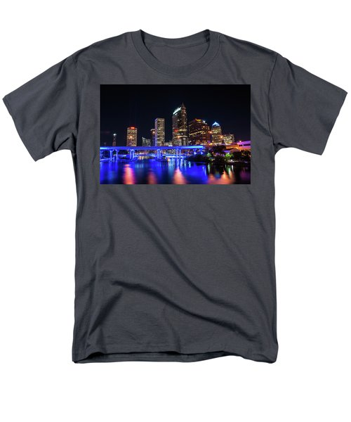 Tampa Skyline Men's T-Shirt  (Regular Fit) by Steven M