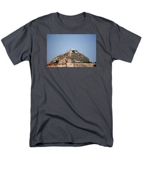 Men's T-Shirt  (Regular Fit) featuring the photograph Temple Of Zeus by Robert Moss
