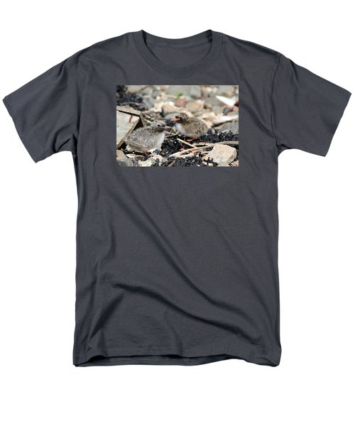 Men's T-Shirt  (Regular Fit) featuring the photograph Tern Chicks by David Grant