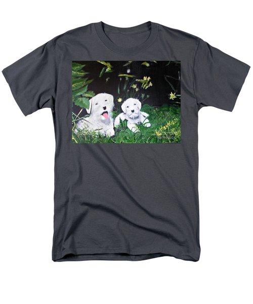 Terriers' Farm Pals. Men's T-Shirt  (Regular Fit) by Francine Heykoop