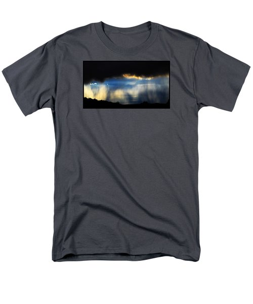 Men's T-Shirt  (Regular Fit) featuring the photograph Tesuque Weather Vistas by Susanne Still