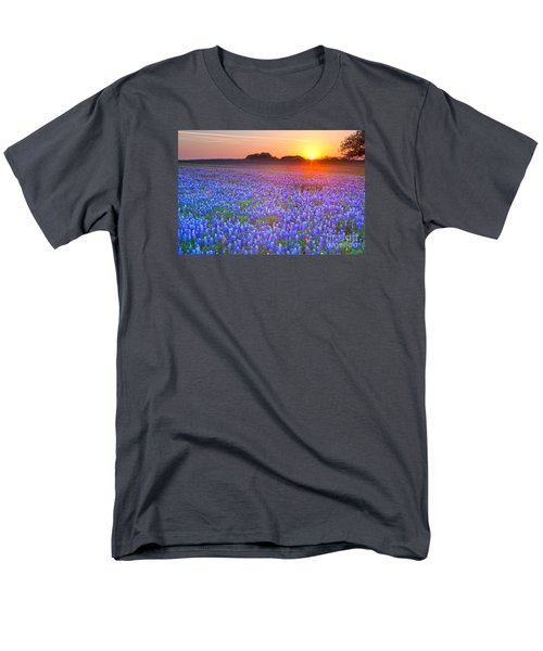 Men's T-Shirt  (Regular Fit) featuring the photograph Texas Bluebonnets by Keith Kapple