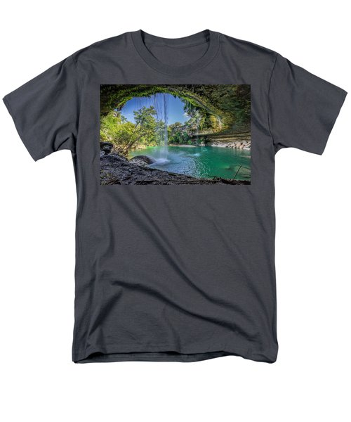 Texas Paradise Men's T-Shirt  (Regular Fit) by Jonathan Davison