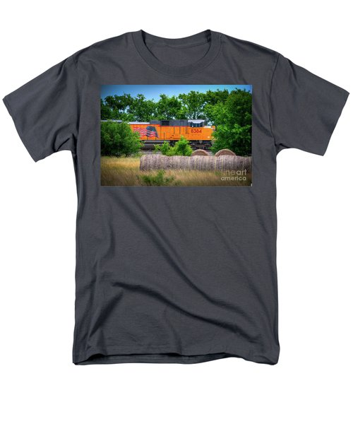 Texas Train Men's T-Shirt  (Regular Fit) by Kelly Wade