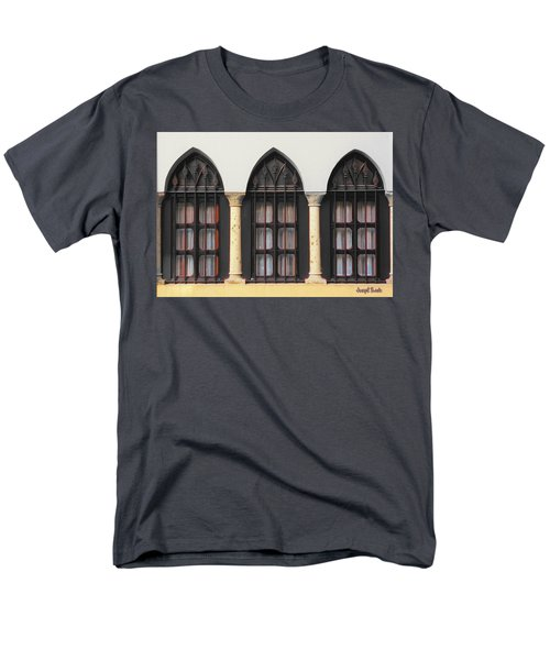 The 3 Windows Men's T-Shirt  (Regular Fit) by Digital Oil