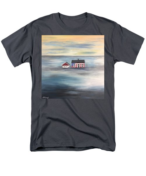 The American Dream And Climate Change Men's T-Shirt  (Regular Fit) by Barbara Anna Knauf
