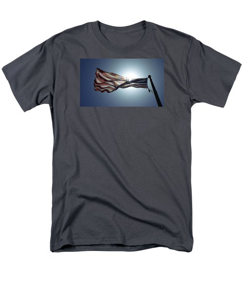 The American Flag Men's T-Shirt  (Regular Fit) by Alex King