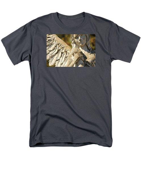 The Angel At St. Thomas Men's T-Shirt  (Regular Fit) by Lynn Jordan