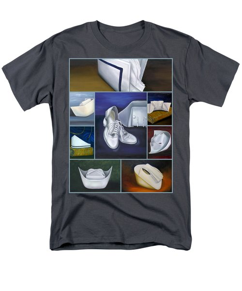 Men's T-Shirt  (Regular Fit) featuring the painting The Art Of Nursing by Marlyn Boyd