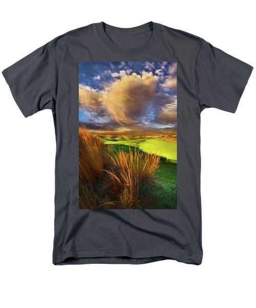 The Back Nine Men's T-Shirt  (Regular Fit) by Phil Koch