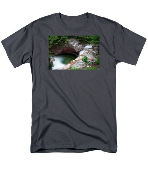The Basin From Above Men's T-Shirt  (Regular Fit) by Michael Hubley