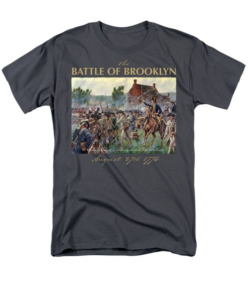 The Battle Of Brooklyn Men's T-Shirt  (Regular Fit) by Mark Maritato
