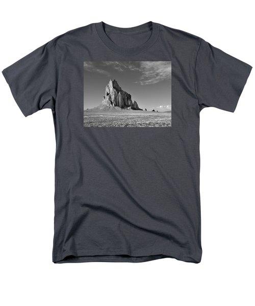 The Beauty Of Shiprock Men's T-Shirt  (Regular Fit) by Alan Toepfer