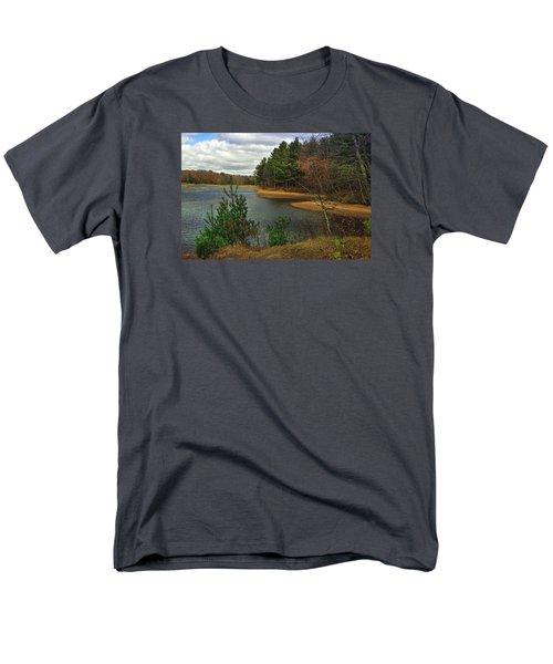 Men's T-Shirt  (Regular Fit) featuring the photograph The Big Eau Plein by Judy  Johnson