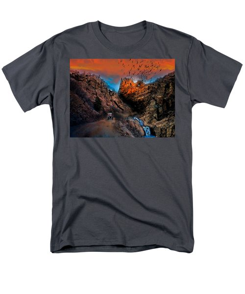 The Birds Of Window Rock Men's T-Shirt  (Regular Fit) by J Griff Griffin