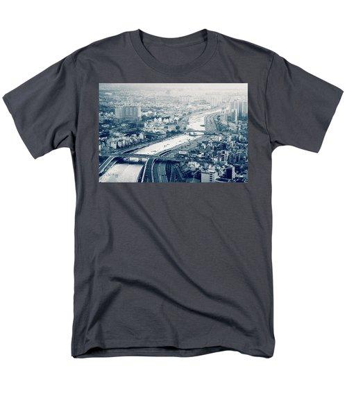The Bisection Of Saigon Men's T-Shirt  (Regular Fit) by Joseph Westrupp