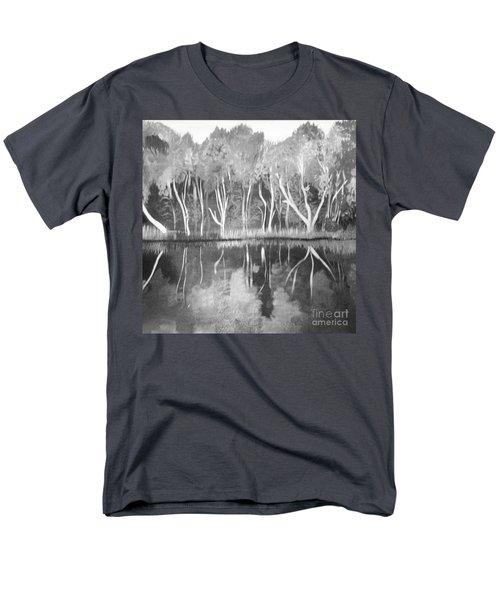 The Black And White Autumn Men's T-Shirt  (Regular Fit)