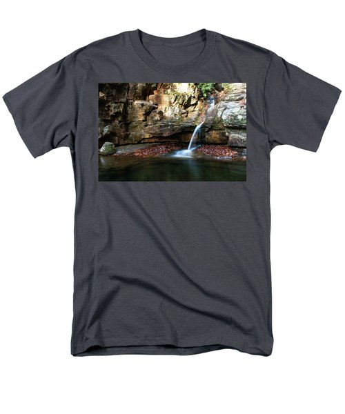 The Blue Hole In November #2 Men's T-Shirt  (Regular Fit) by Jeff Severson