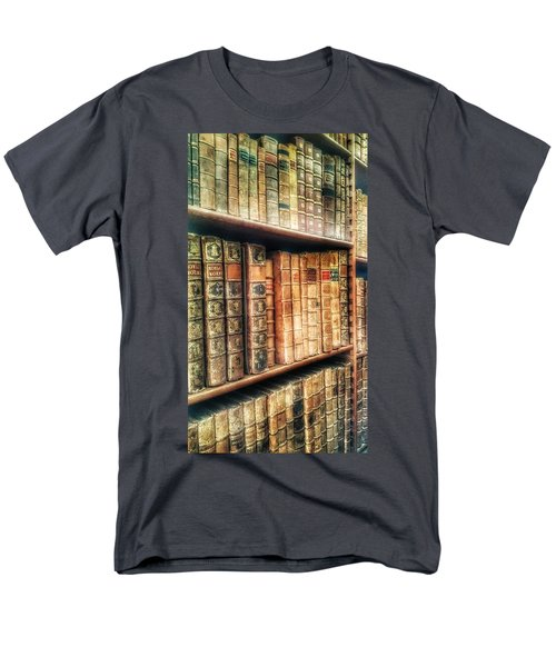 The Bookcase Men's T-Shirt  (Regular Fit) by Isabella F Abbie Shores FRSA