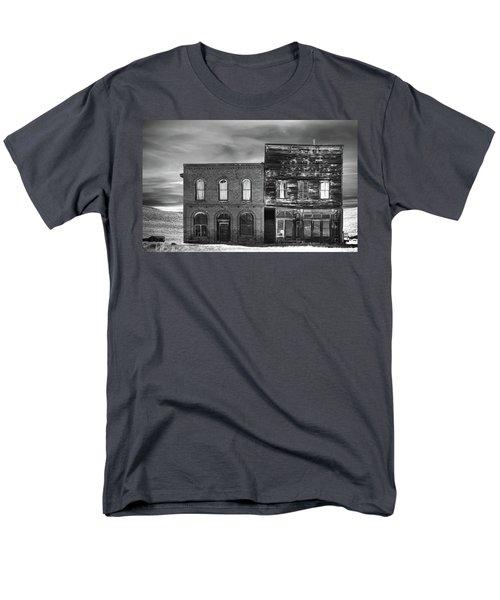 The Boot Building Men's T-Shirt  (Regular Fit) by Marius Sipa