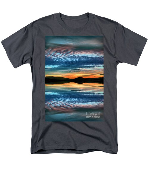 The Brush Strokes Of Evening Men's T-Shirt  (Regular Fit) by Tara Turner