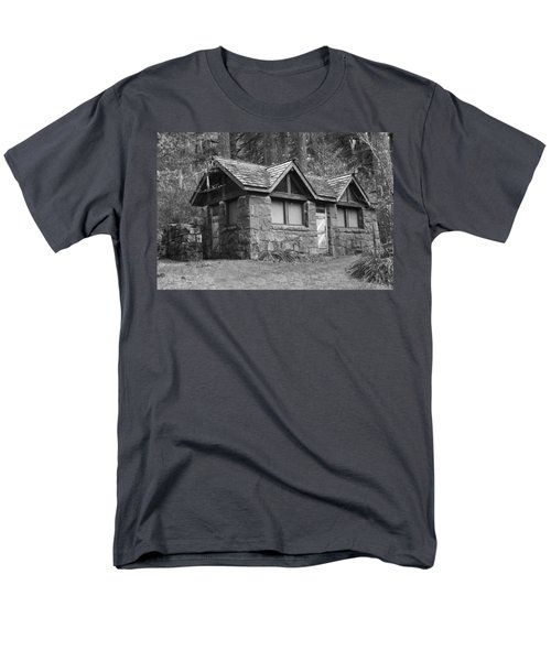 The Cabin Men's T-Shirt  (Regular Fit) by Angi Parks
