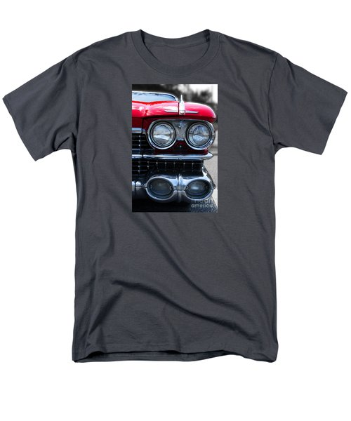 Men's T-Shirt  (Regular Fit) featuring the photograph The Cadillac Way by Rebecca Davis