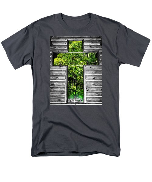 The Carpenters Cross Men's T-Shirt  (Regular Fit) by Daniel Thompson
