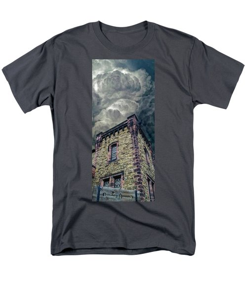 Men's T-Shirt  (Regular Fit) featuring the photograph The Cell Block Restaurant by Greg Reed