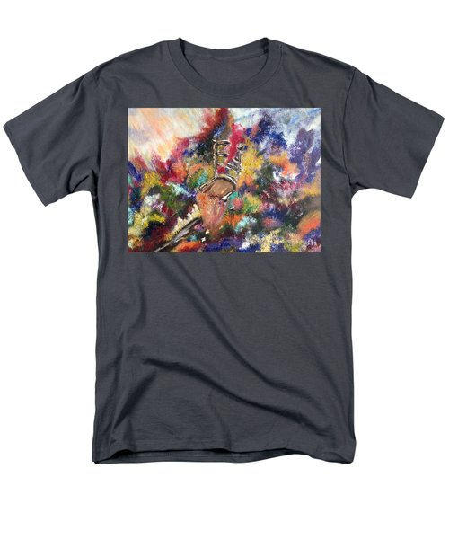 Men's T-Shirt  (Regular Fit) featuring the painting The Chair  by Lori Lovetere