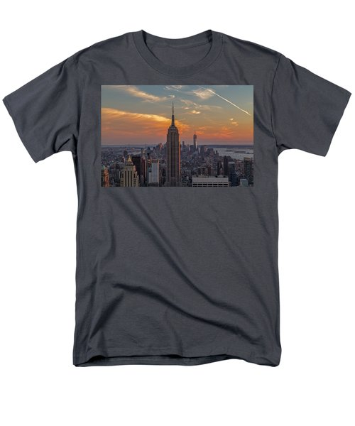 The City That Never Sleeps  Men's T-Shirt  (Regular Fit) by Anthony Fields