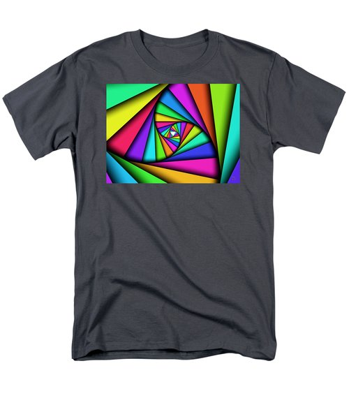 Men's T-Shirt  (Regular Fit) featuring the digital art The Core by Manny Lorenzo